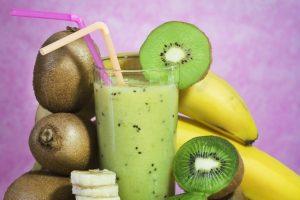 Frullato Energizzante di Banana e Kiwi